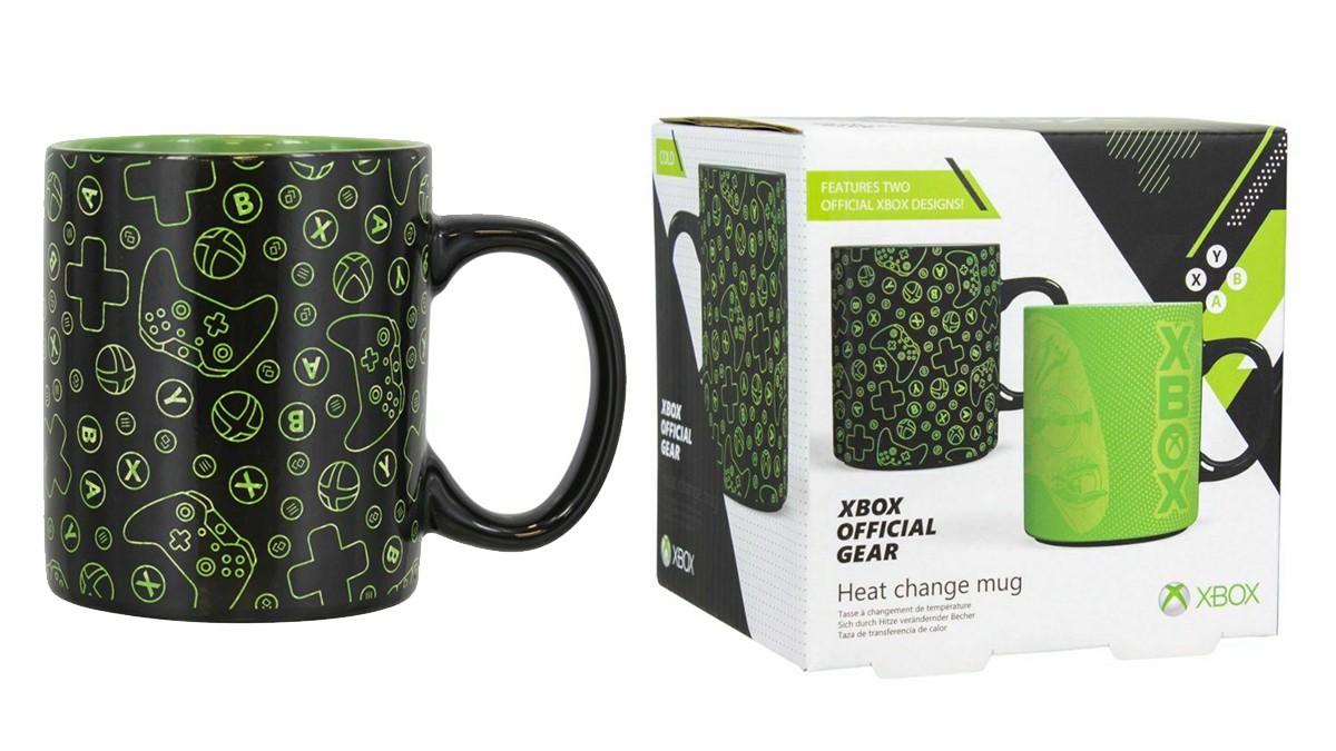 XBOX heat change mug