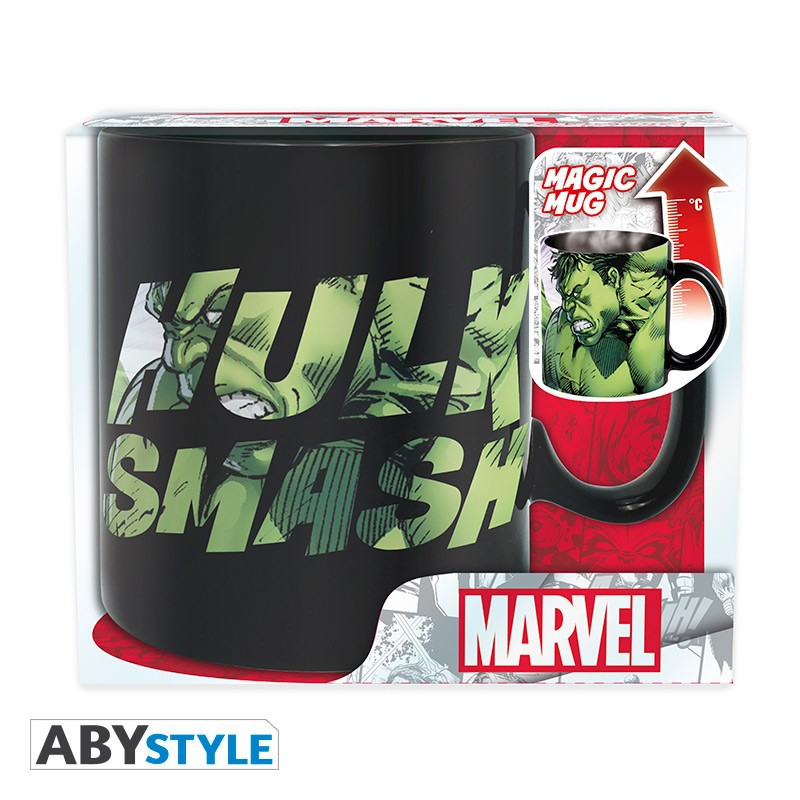 MARVEL HULK SMASH 460 ml heat change mug