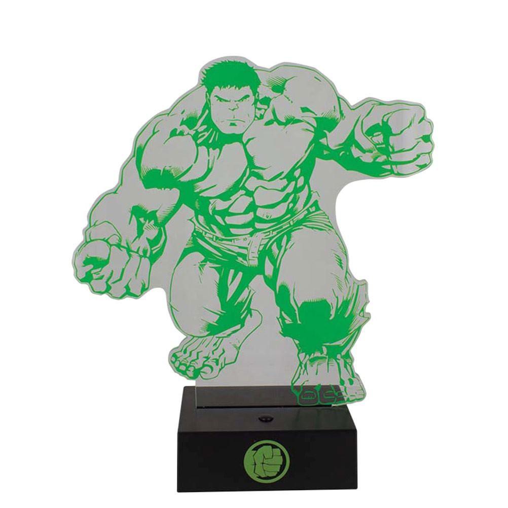 MARVEL - Marvel Avengers Hulk Light USB lempa 24cm
