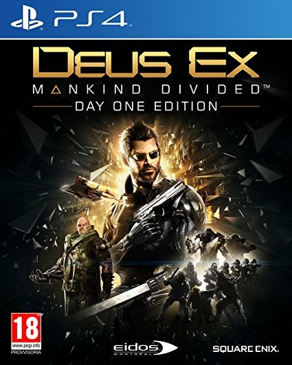Deus Ex: Mankind Divided Day One Edition