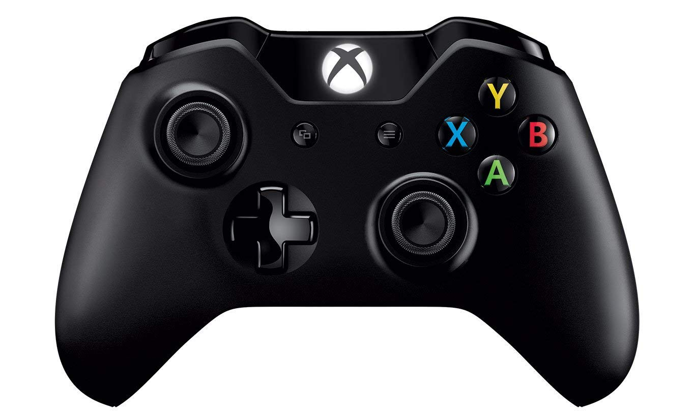 Microsoft Xbox One Controller + Cable for Windows (Black)