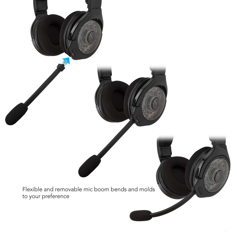 Afterglow AG9+ belaidės juodos ausinės skirtos PS4