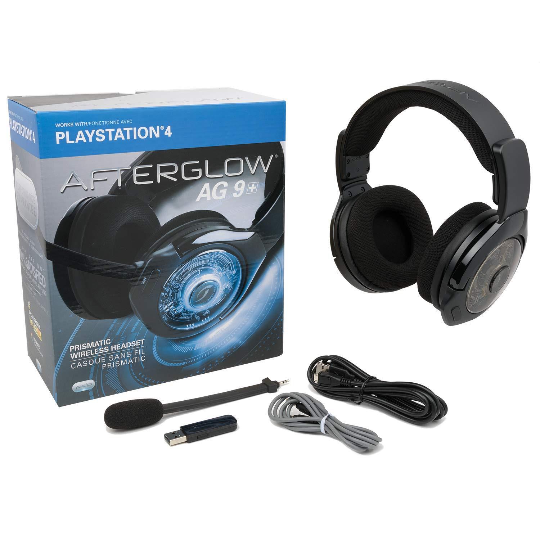 Afterglow AG9+ belaidės juodos ausinės