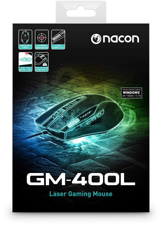 NACON GM-400L laidinė pelė | 6000 DPI