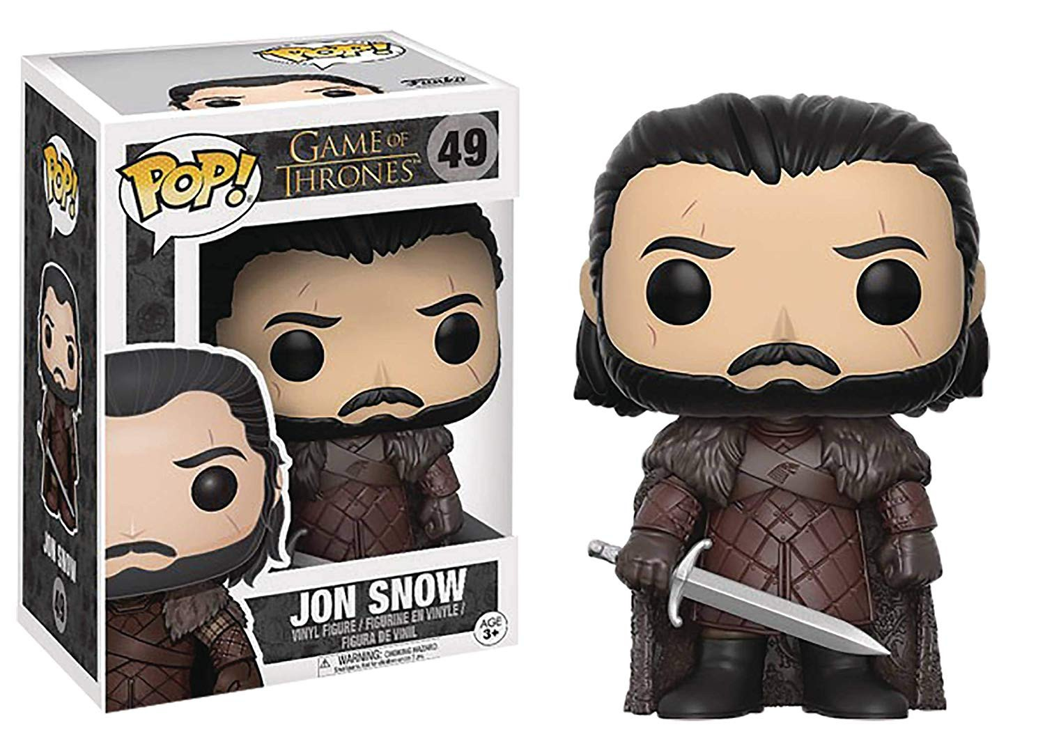 FUNKO POP! Game of Thrones: Jon Snow | 49 | 9cm