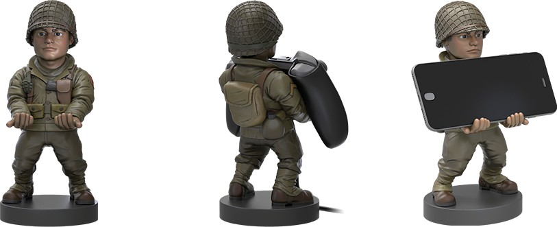 Call of Duty WWII Private Cable Guy stand
