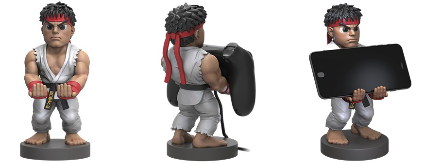Street Fighter Ryu Cable Guy stovas