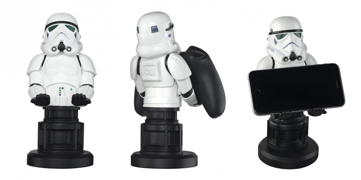 Star Wars Stormtrooper Cable Guy  stovas