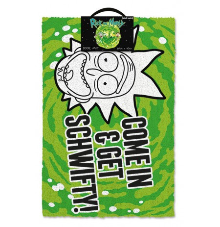 Rick and Morty (Get Schwifty) doormat | 60x40cm