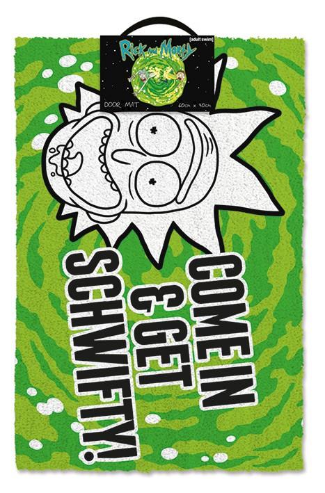 Rick and Morty (Get Schwifty) durų kilimėlis| 60x40cm