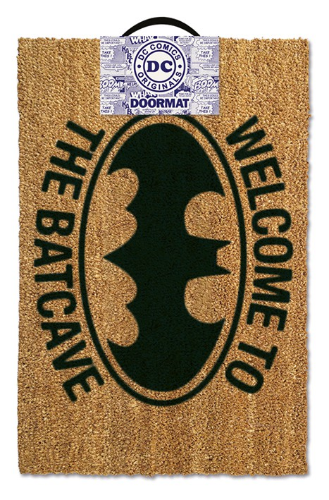 Batman (Welcome To The Batcave) durų kilimėlis| 60x40cm