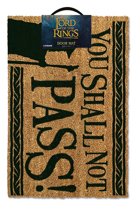 The Lord Of The Rings (You Shall Not Pass) doormat | 60x40cm