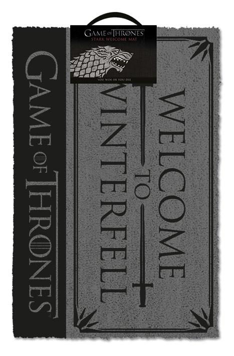Game of Thrones (Welcome to Winterfell) doormat | 60x40cm