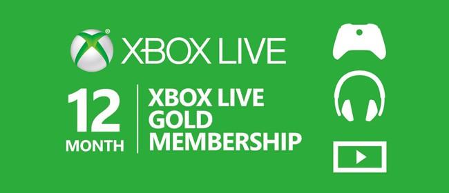 Xbox live 12 Month Gold Membership Card (Xbox One/360)   EU