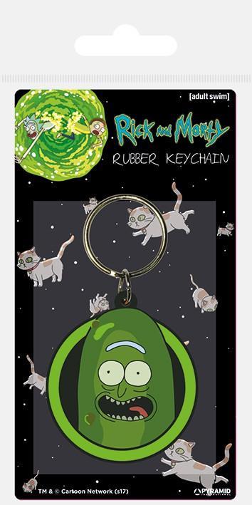 Rick and Morty (Pickle Rick) guminis pakabukas