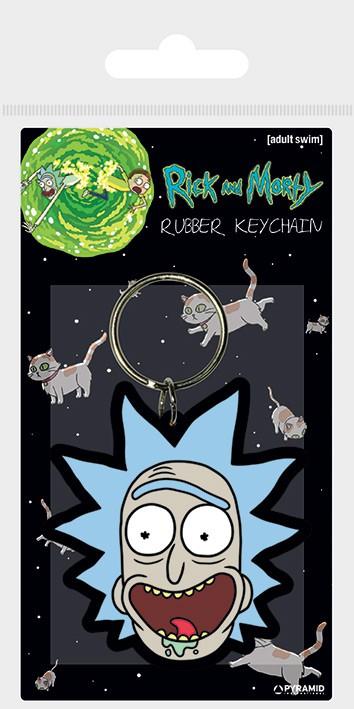 Rick and Morty (Rick Crazy Smile) guminis pakabukas