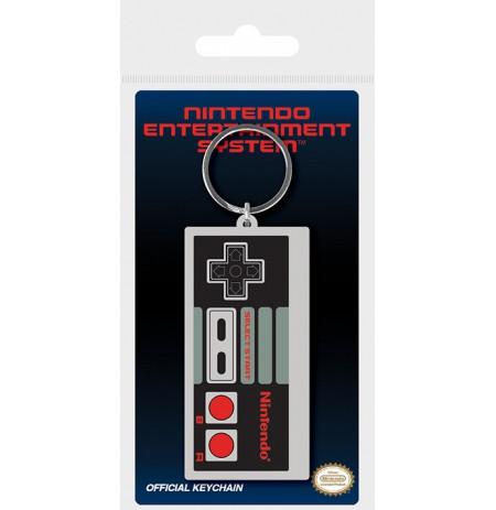 Nintendo (NES Controller) rubber keychain