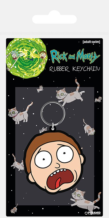 Rick and Morty (Morty Terrified Face) guminis pakabukas