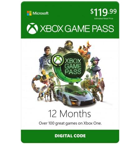 12 mėn Xbox Game Pass prenumerata Xbox One
