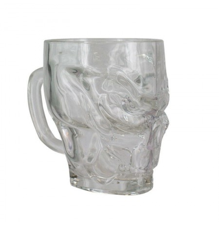 Call of Duty Skull Shaped Glass 500ml