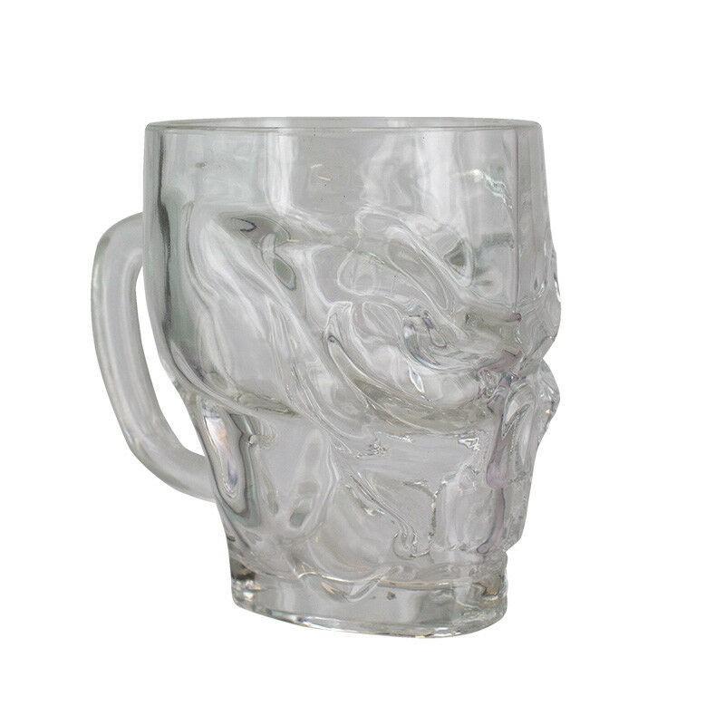 Call of Duty Skull Shaped Glass 500ml