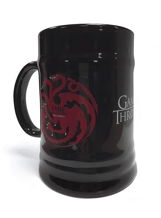 Game Of Thrones (House Targaryen) ceramic stein 500ml