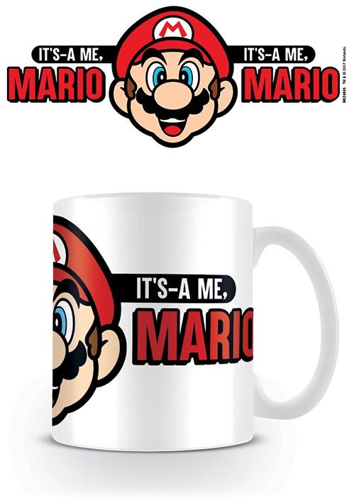 Super Mario ceramic mug (Its A Me Mario) ceramic mug