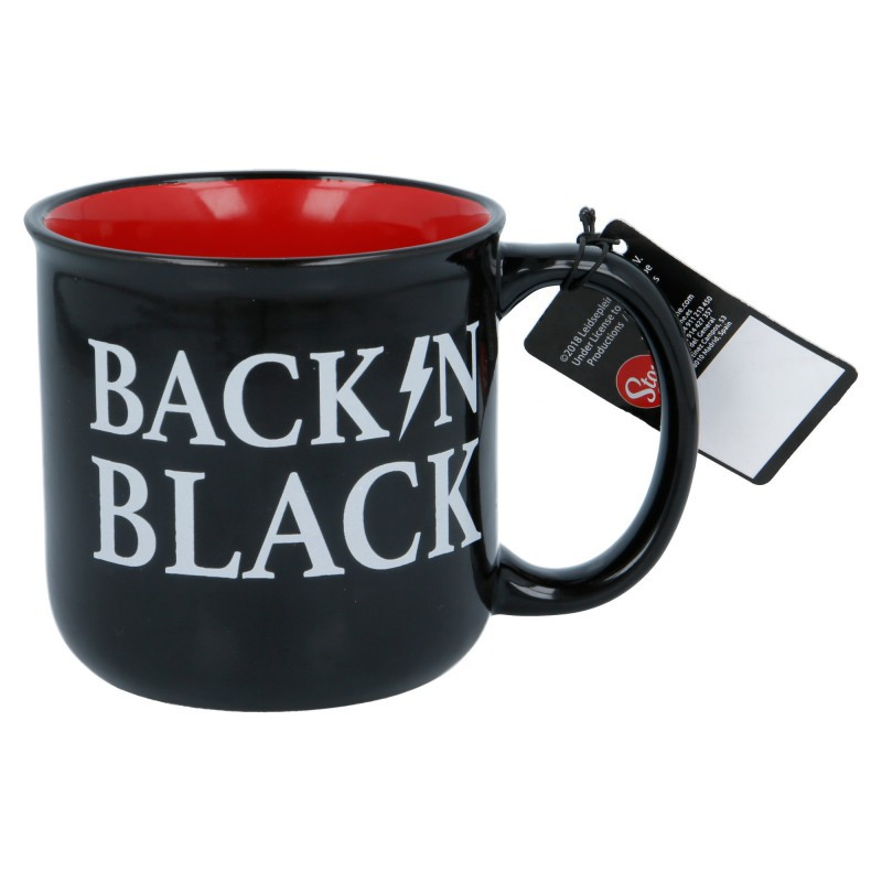 """AC/DC: """"Back in Black"""" ceramic mug"""