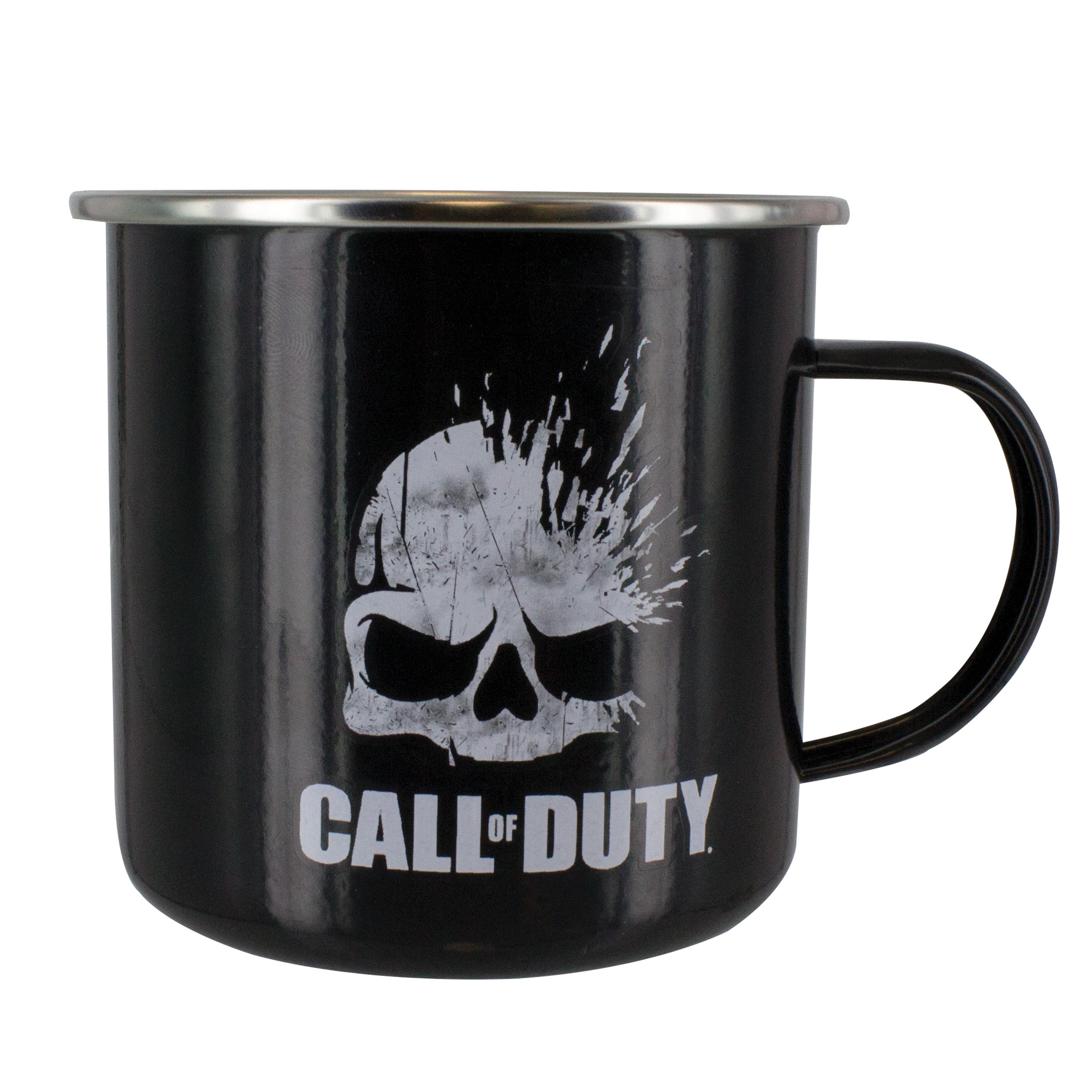 Call of Duty LOGO metalinis puodukas
