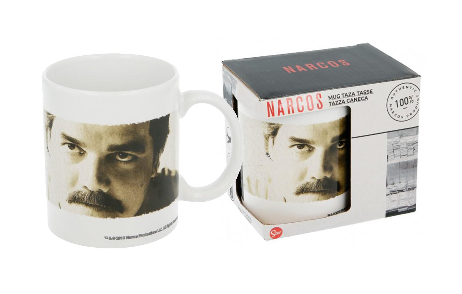Narcos Pablo Escobar puodukas