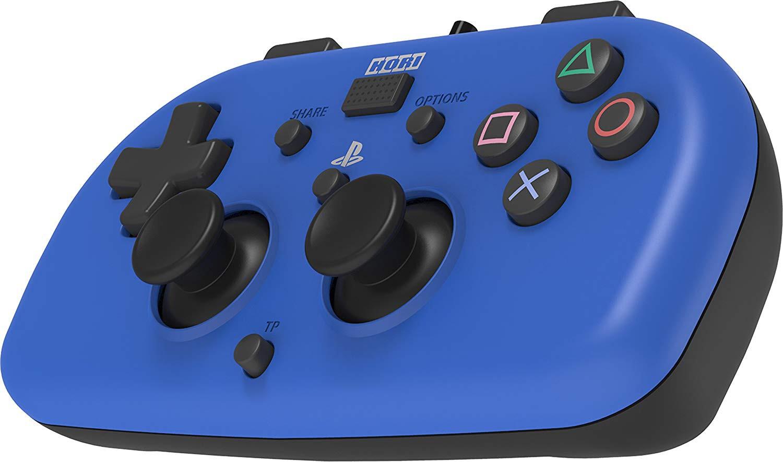 HORI wired mini - PlayStation 4 gamepad (blue)