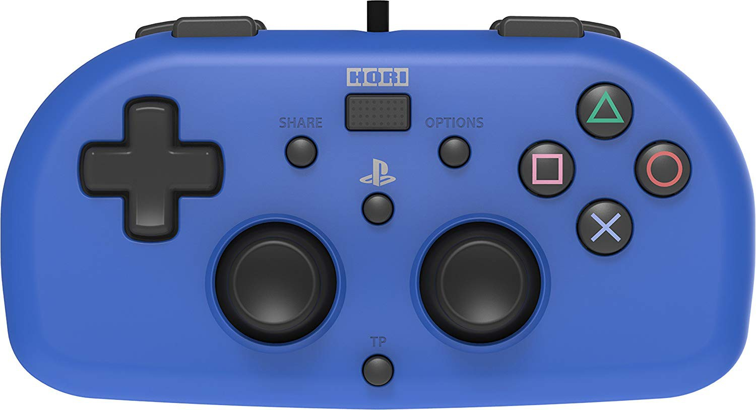 HORI wired mini - PlayStation 4 gamepad (blue)