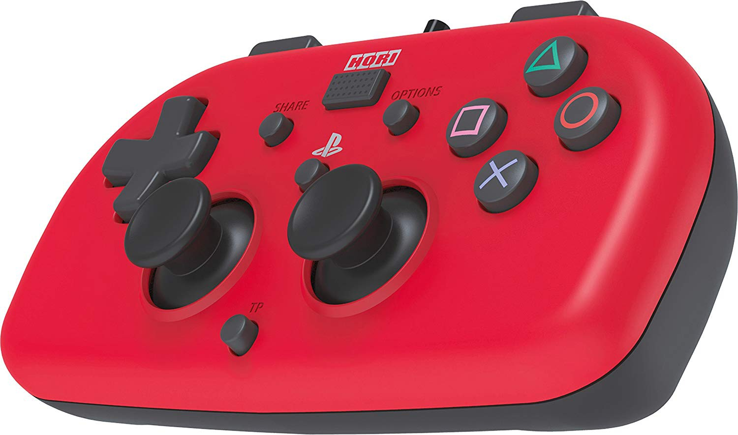 HORI wired mini - PlayStation 4 gamepad (red)