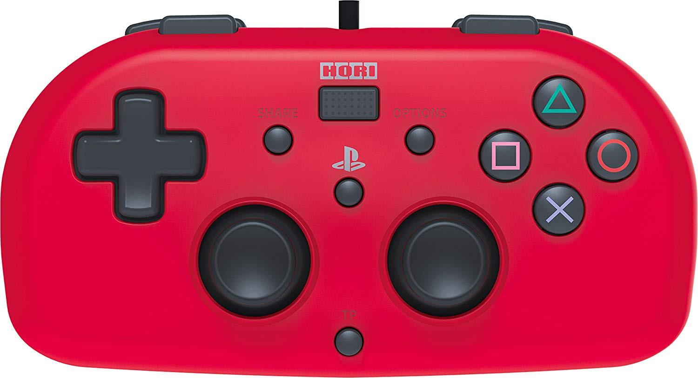 HORI wired mini - PlayStation 4 valdiklis vaikams (raudonas)