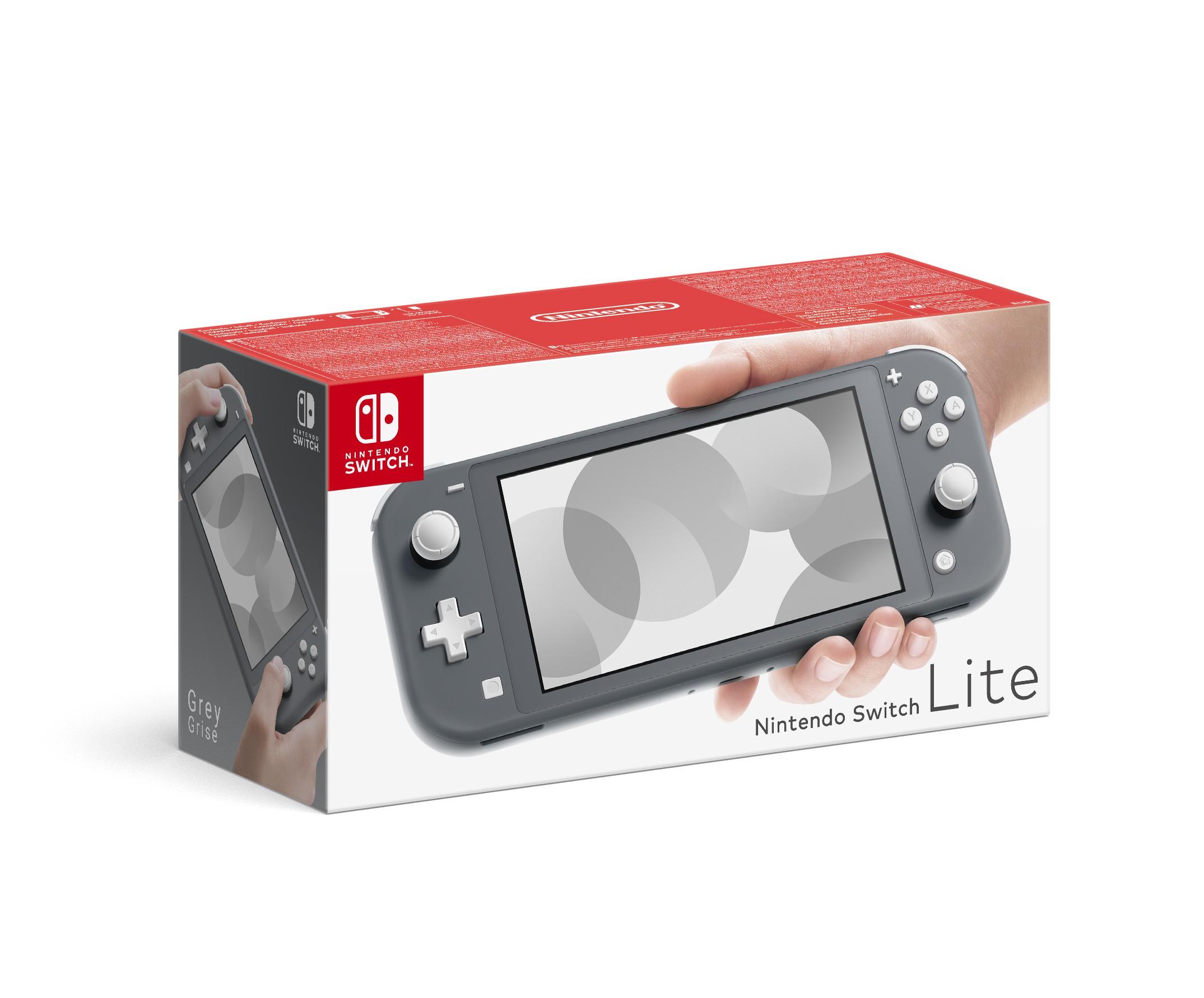 Nintendo Switch Lite (pilka)