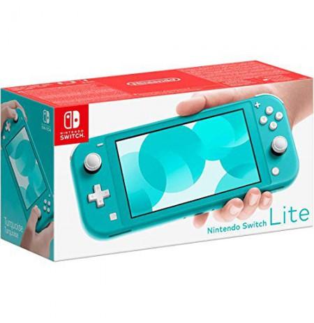 Nintendo Switch Lite Žalsvai melsva