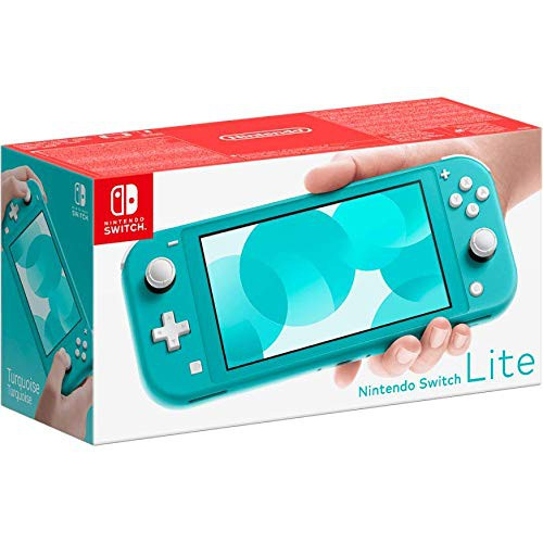 Nintendo Switch Lite (žalsvai melsva)