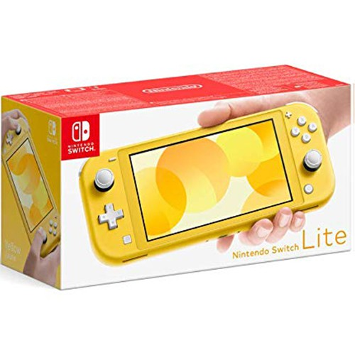 Nintendo Switch Lite Geltona