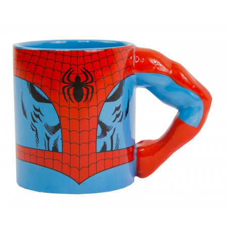 Marvel Spiderman Arm 3D Mug