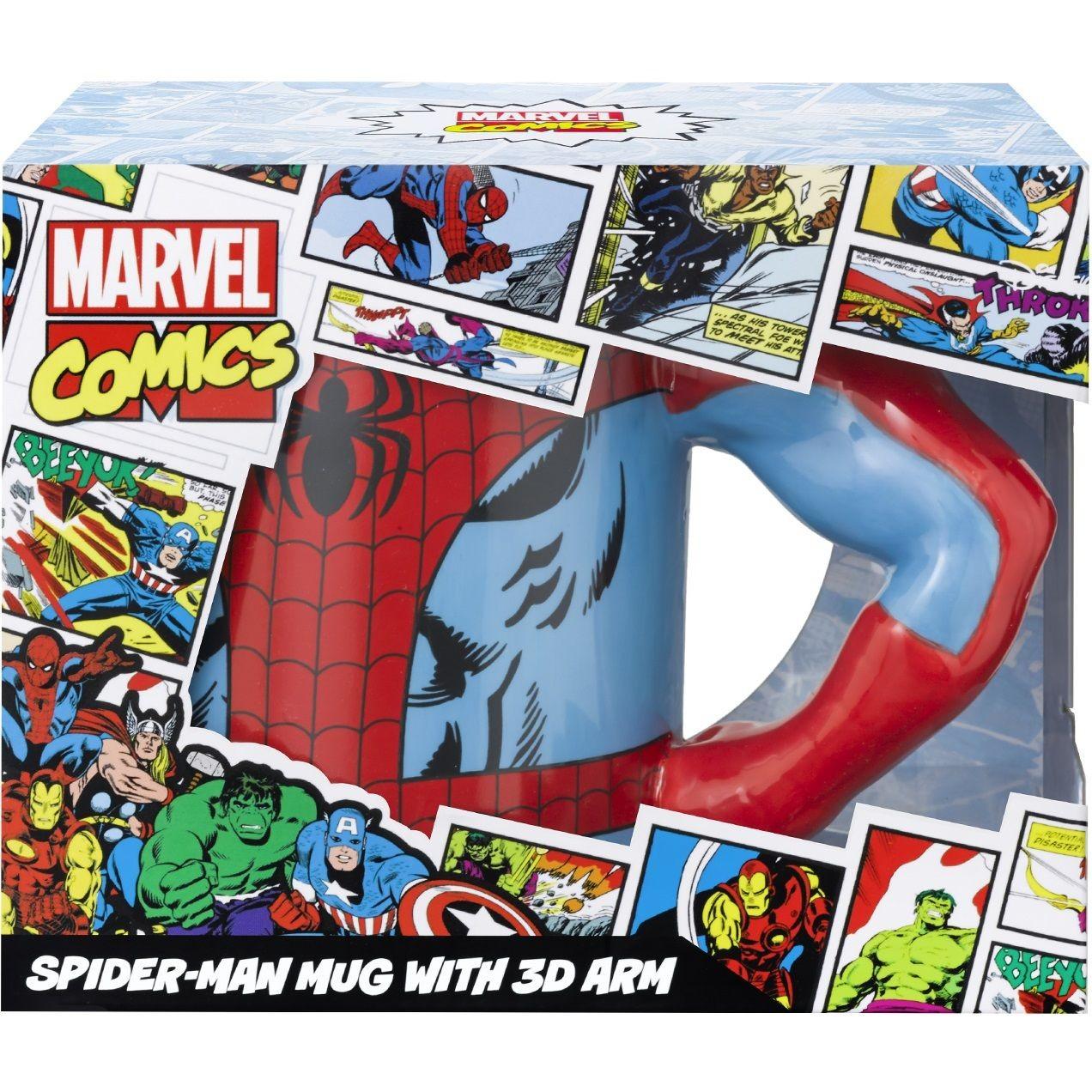 Marvel Spiderman Arm 3D Mug
