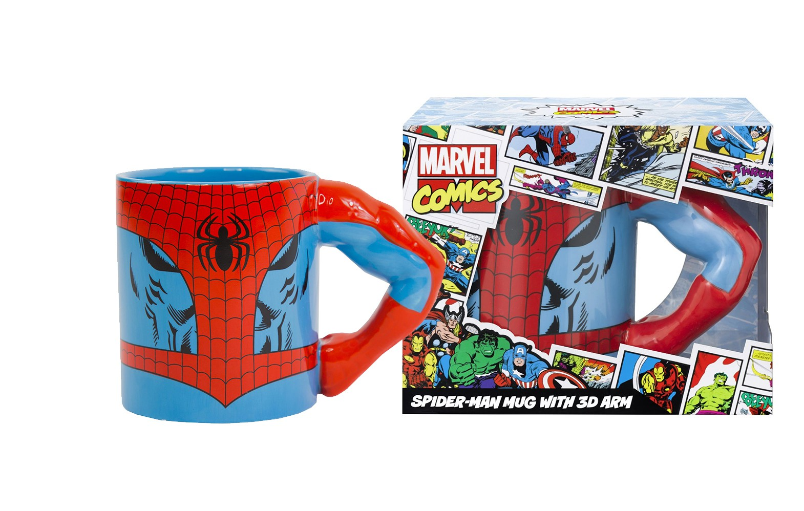 MARVEL Spiderman Arm 3D puodukas