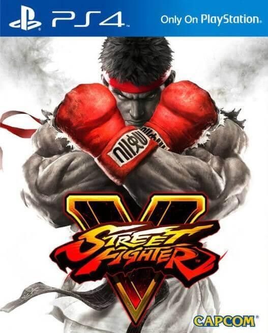 Street Fighter V Steelbook Edition