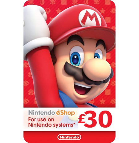 Nintendo eShop Card 30 GBP (UK)