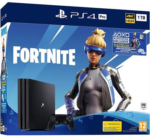 Žaidimų konsolė SONY PlayStation 4 (PS4) PRO 1TB (juoda) + Red
