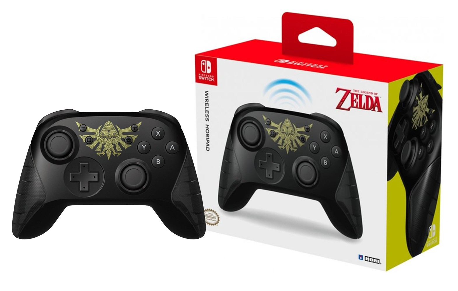 HORI Wireless Zelda Horipad for Nintendo Switch