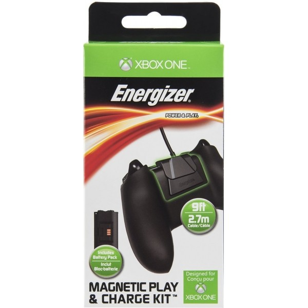 Energizer Magnetic Play and Charge Cable with Recharge Battery