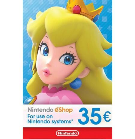 Nintendo eShop Card 35 EUR (EUROPOS ŠALYS)