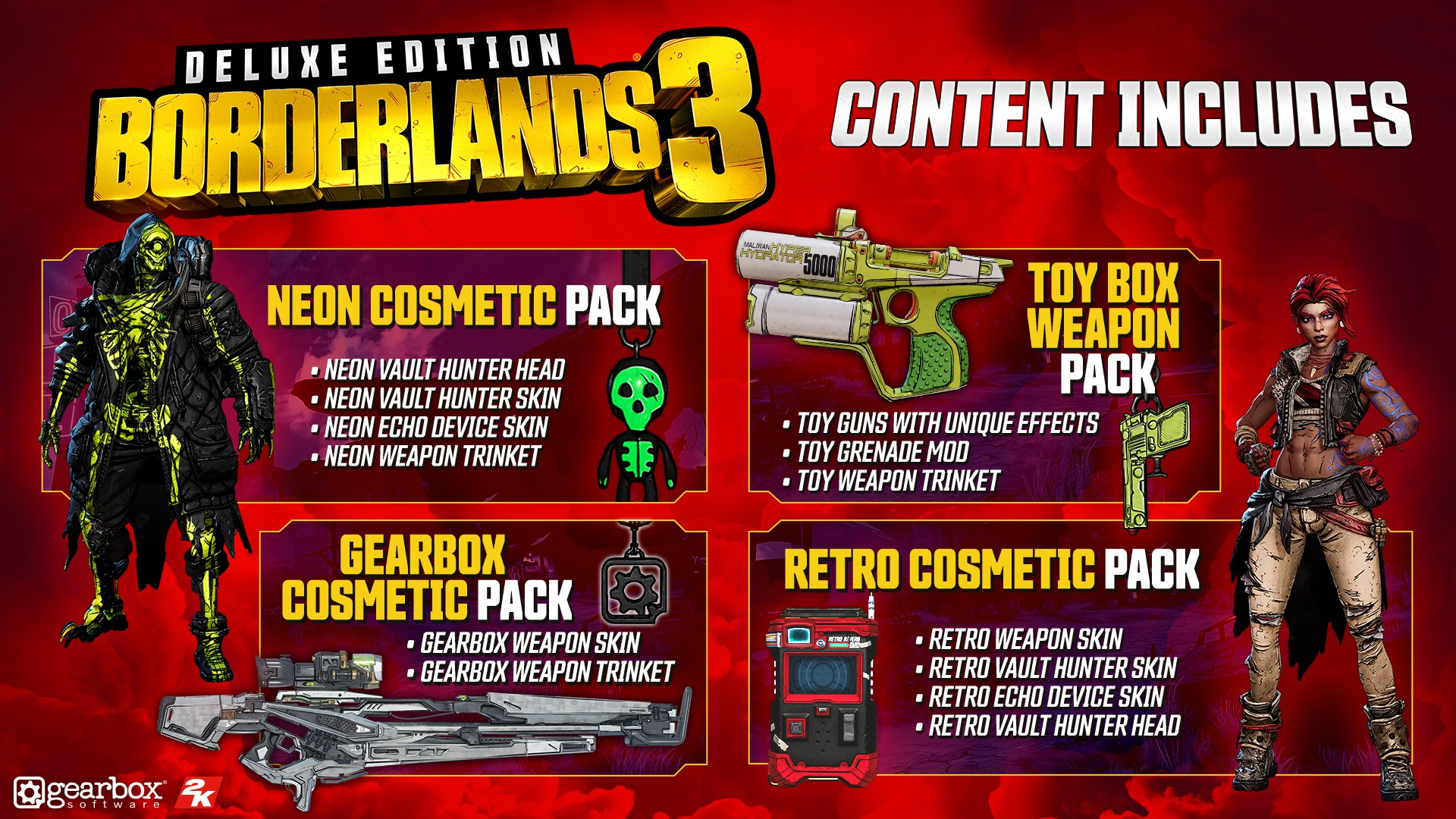 Borderlands 3 Deluxe Edition + Pre-order bonus