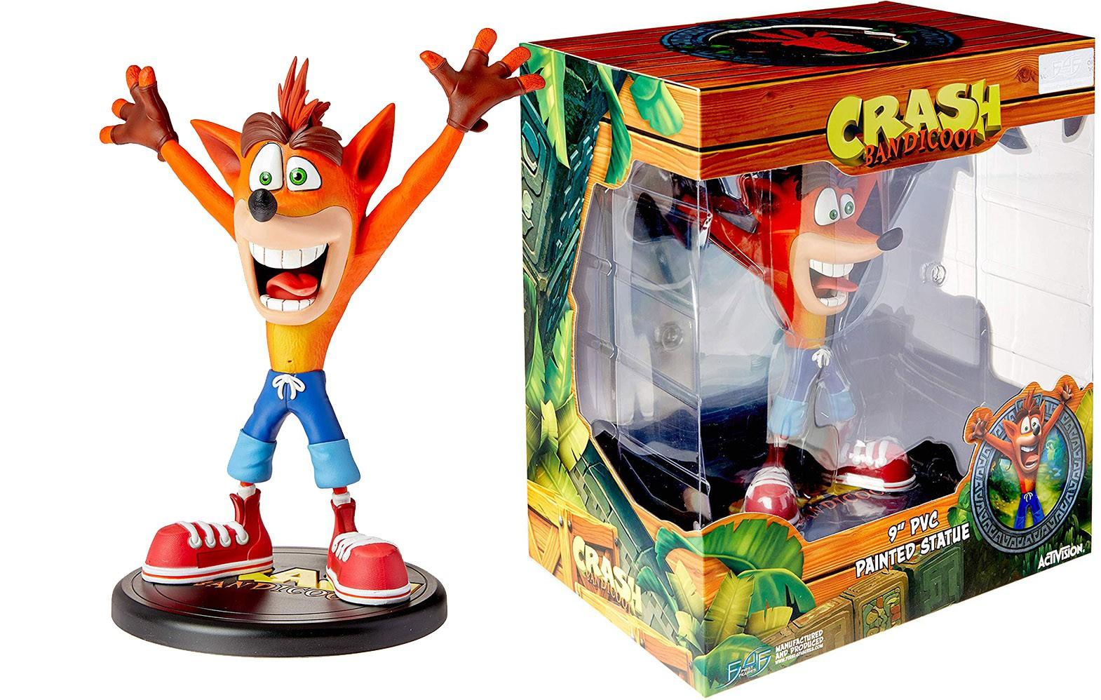 Crash Bandicoot (N Sane Trilogy) statula | 23cm