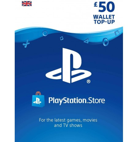 Playstation Network Card 50 GBP (United Kingdom)